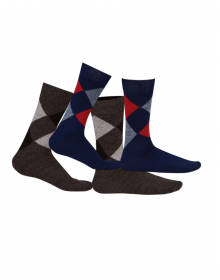 Pure Wool Socks Diamond P2