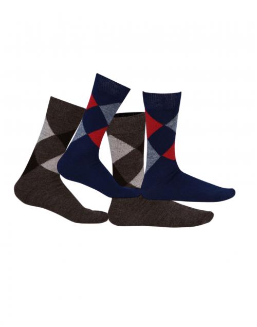 Pure Wool Socks Diamond P2