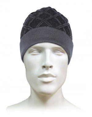 Acrylic Designer Cap For Unisex Grey