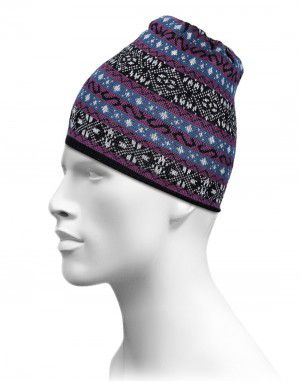 Acrylic purple Designer Cap For Unisex