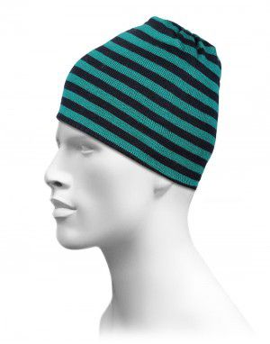 Acrylic Stripes Design Cap For Unisex