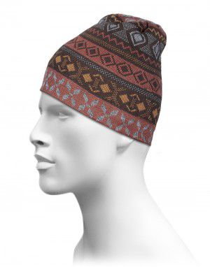 Acrylic Designer Cap For Unisex Brown