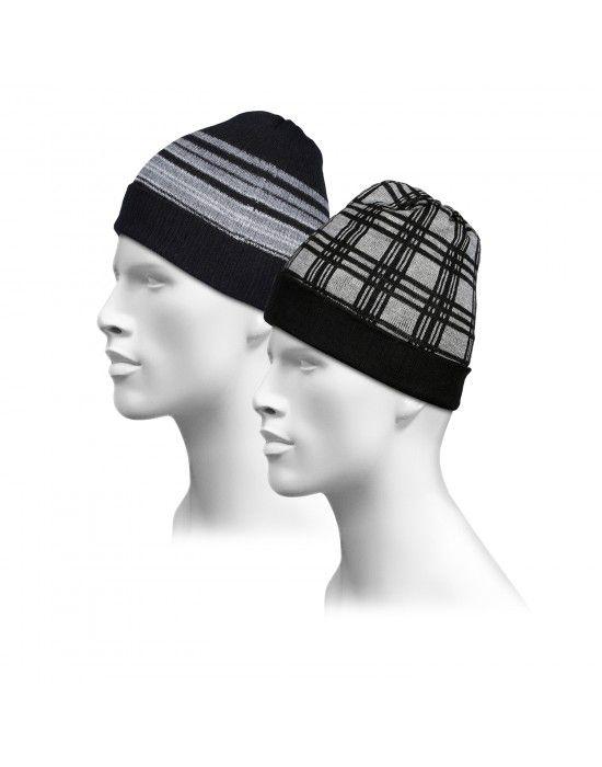 Pure Wool Reversible Cap Combo6 P2