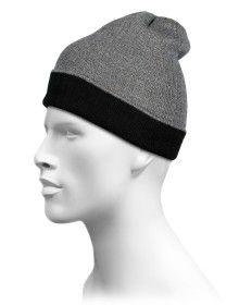 Pure Wool Reversible Selection Cap Grey