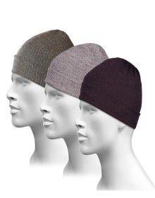Pure Wool Plain Cap Combo P3