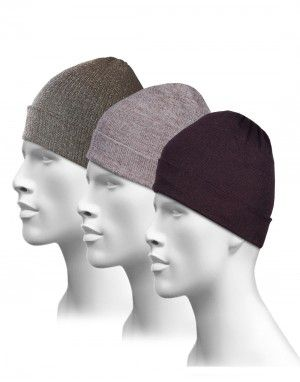 Pure Wool Plain Cap Combo P3
