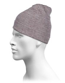 Pure Wool Plain Selection Cap Brown