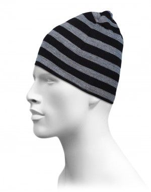 Acrylic Fisher Fifty Stripe Cap for group grey color