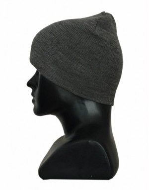 Kids pure wool plain cap grey b464e71c335