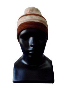 Kids Cap stripes brown