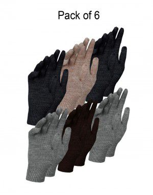 Baby Pure Wool Gloves P6