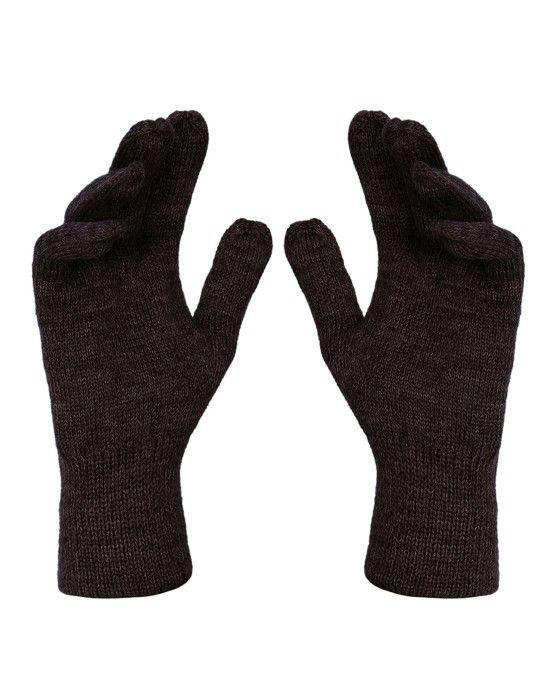 Pure Wool Gloves Plain P12