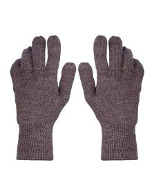 Pure Wool Gloves Plain Pack 2
