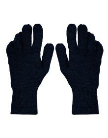 Acrylic Wool Hand Gloves Plain Grey