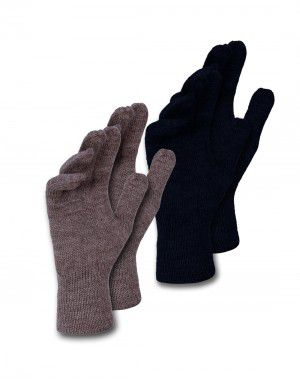 Pure Wool Gloves Plain P2