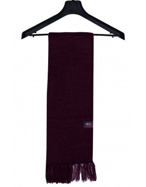 Purewool Plain Muffler Purple