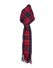 Purewool Muffler Checks Red AND Black