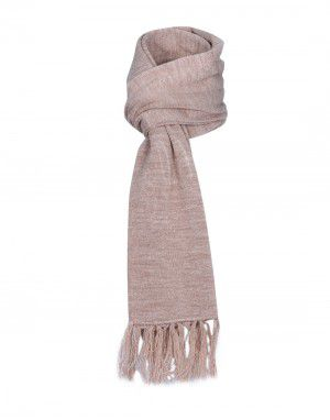 Purewool Plain Muffler Camel in Wholesale