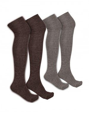 Pure Wool Long Stocking Unisex P2