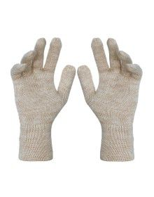 Pure Wool Hand Gloves Plain ladies Skin