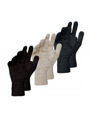 Pure Wool Gloves Plain ladies P3