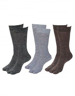 Pure Wool Socks With Thumb P3 Machine Washable