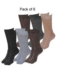 Pure Wool Socks With Thumb P6
