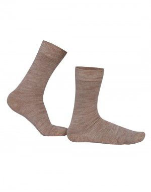 Pure Wool Socks Plain Assorted Colours