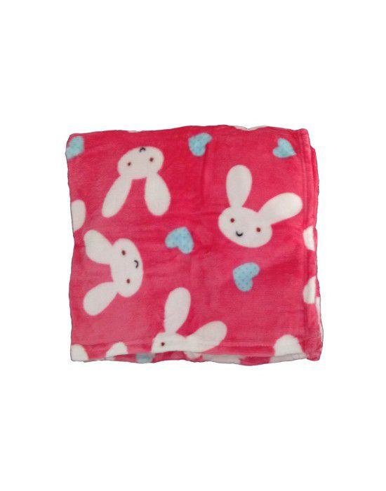 Baby Blanket for Infants printed pink