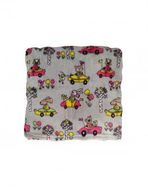 Printed Baby Blanket For Infants