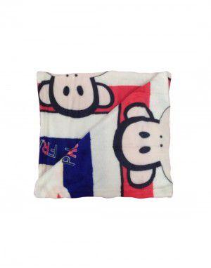Baby Blanket for Infants printed white