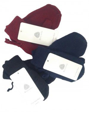 Toddlers Pure Wool Gloves 3 Pairs