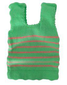 Infants Sleeveless Vest stripes P3