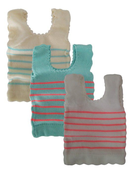 Infants Assorted Sleeveless Vest P3