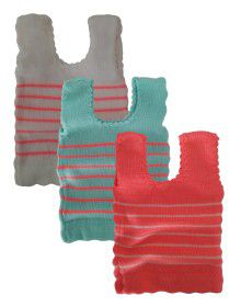 Infants Sleeveless Vest stripes P3