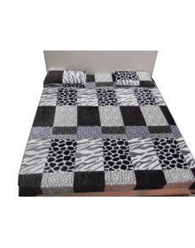 Winter Double bedsheet with 2 pillow Cover