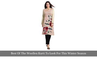 Best Of The Woolen Kurti To Look For This Winter Season