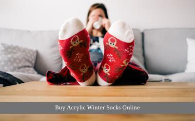 Buy Acrylic Winter Socks Online