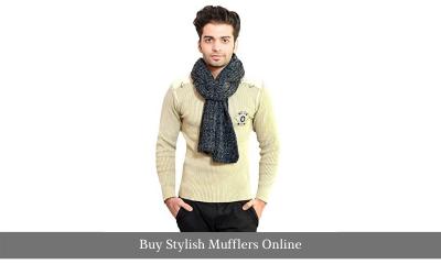 Buy Stylish Mufflers Online- Woollen Wear