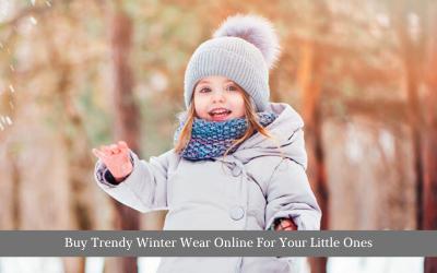 Buy Trendy Winter Wear Online For Your Little Ones