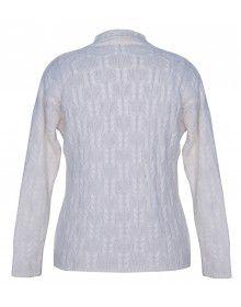 Ladies Cardigan Whiite design