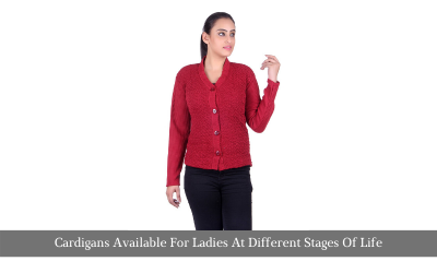 Cardigans Available For Ladies At Different Stages Of Life