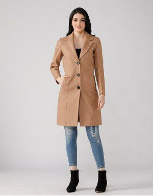 Ladies Coat Camel