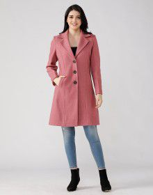 Ladies Coat Mauve