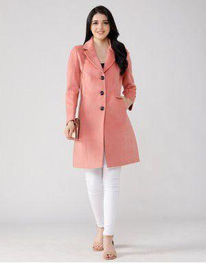 Ladies Coat Peach