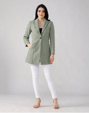 Women Coat Mint
