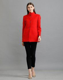 Ladies Coat Red