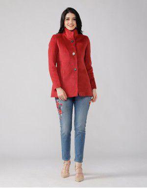 Ladies Coat Rose Basic