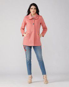 Ladies Coat Peach