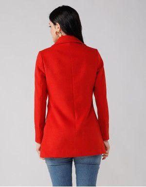 Ladies Coat Tomato